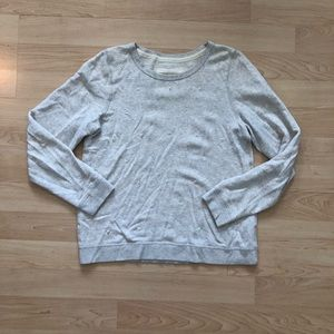 Abercrombie & Fitch Embellished Cream Sweater